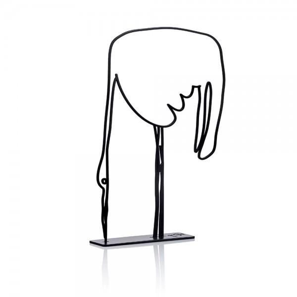Wanetik Art - Stork Sculpture