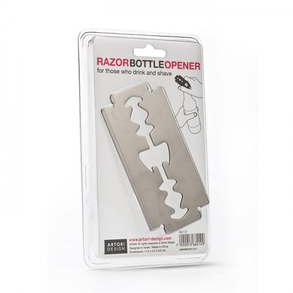 Razor Bottle Opener by artoridesign