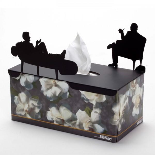 In Treatment Tissue Box Cover by artoridesign