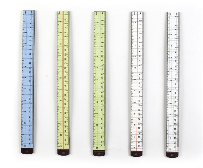 Notebook Yardsticks