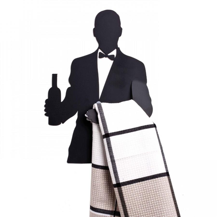 Wine Waiter - Kitchen Towel Hanger