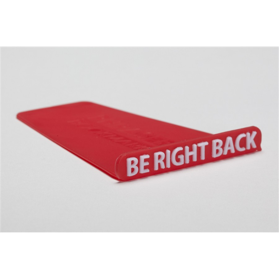 """Phraser - """"Be Right Back"""" - Red"""