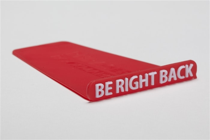 "Phraser - ""Be Right Back"" - Red"