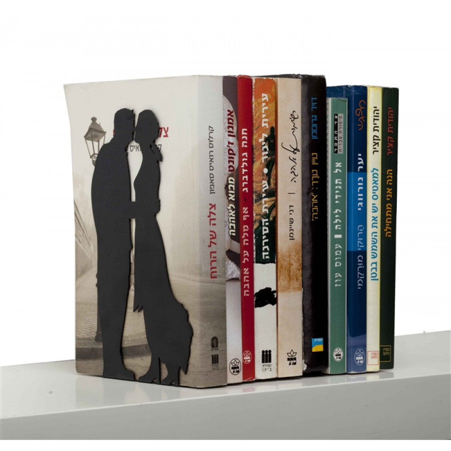 """""""By the book"""" Bookend - for love and romance books"""