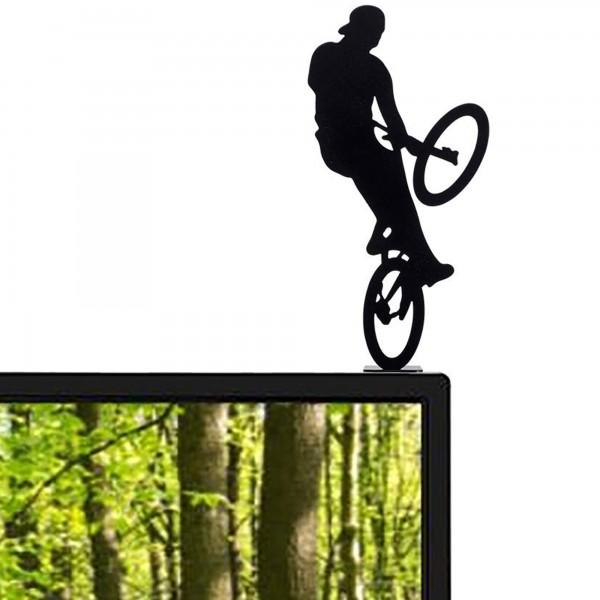 Extreme Bike Rider - Metal Statuette / Decoration.