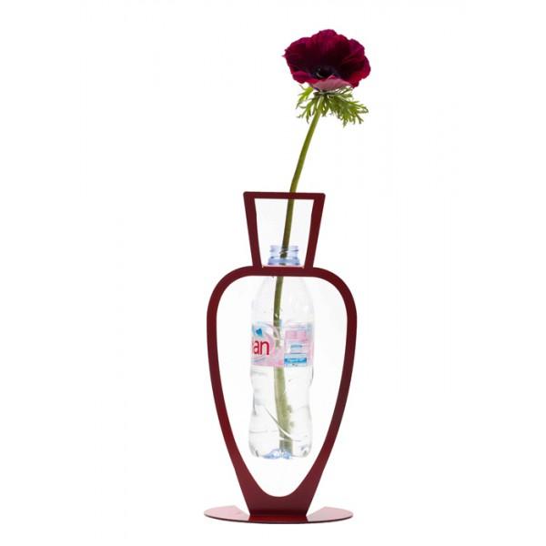 Primavera Bottle Vase - Red