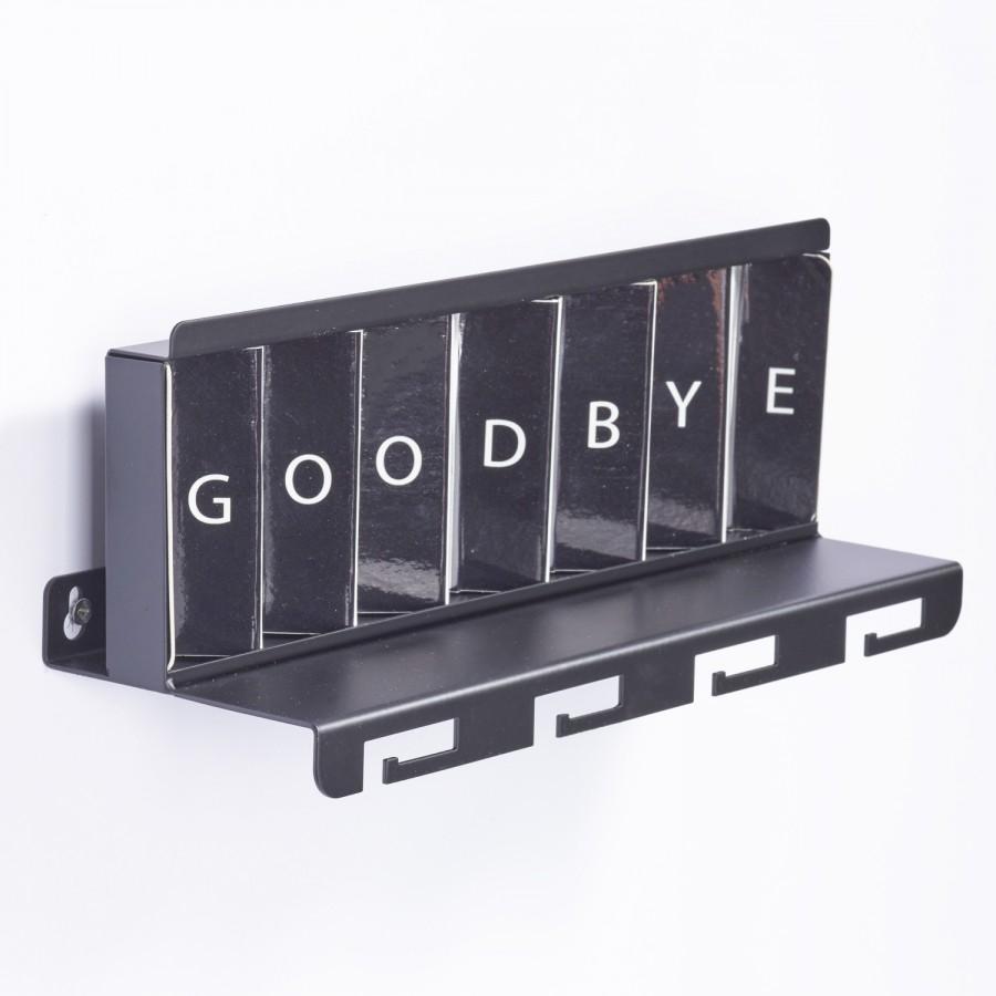 Greetings Metal Black by Artori Design