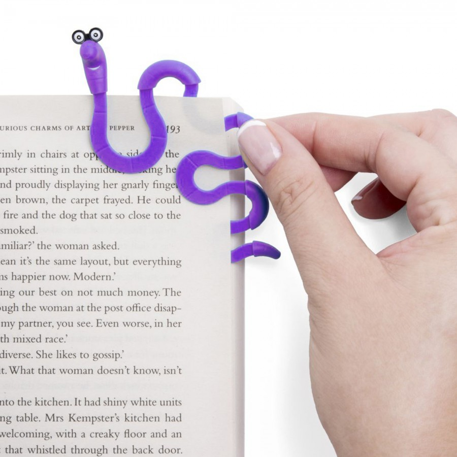 Wally Clip Bookmark - Purple