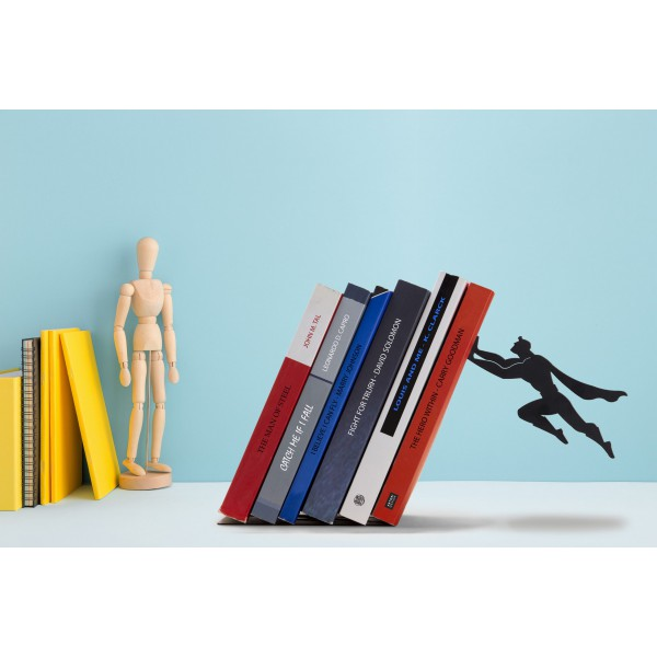 Book & Hero Bookend by Artori - Cool Gifts