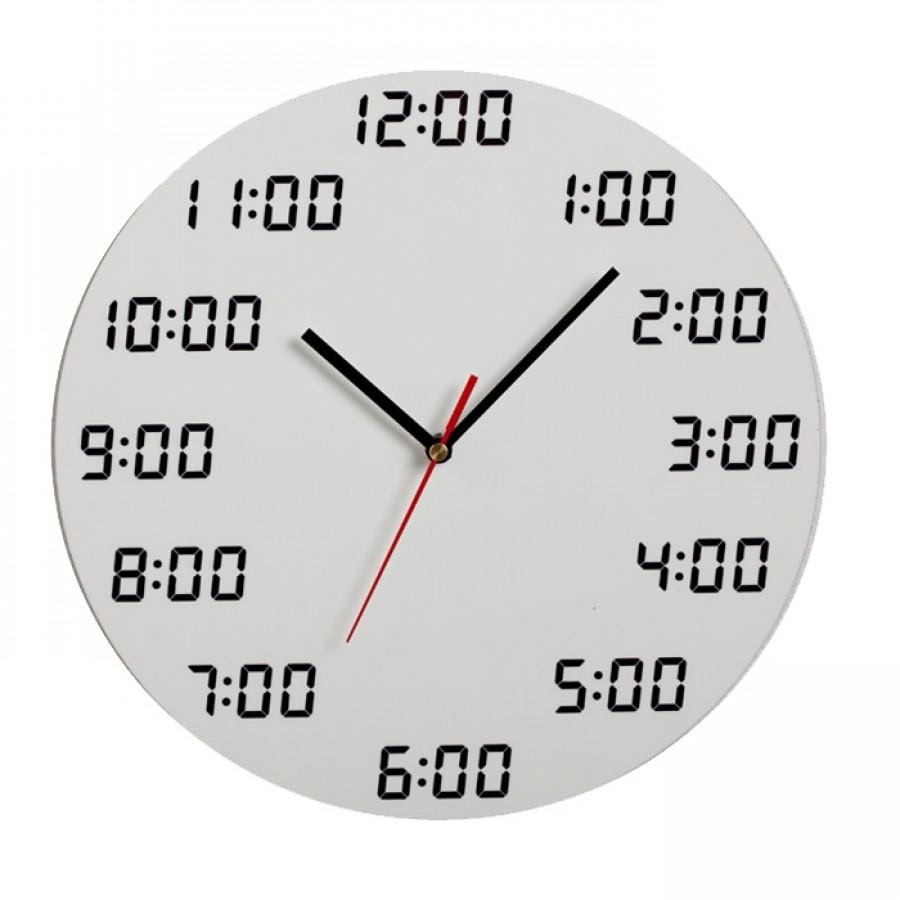 Analogous Didital Wall Clock