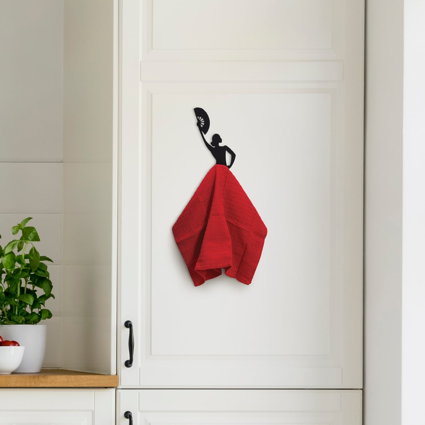 Olé hook - kitchen towel hanger