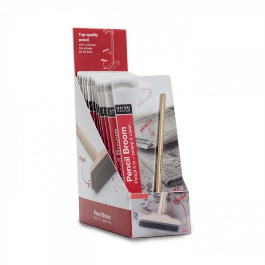 Pencil Broom - 12 pack