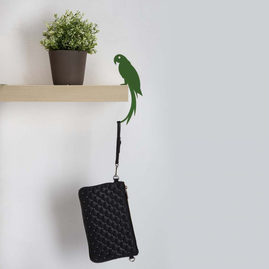 Hold it -polly-the-parrot