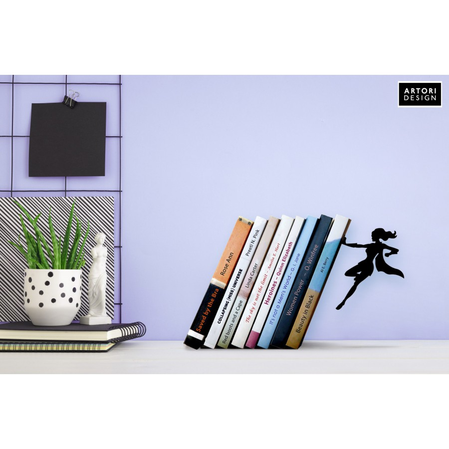 Supergal bookend by Artori Design cool gifts