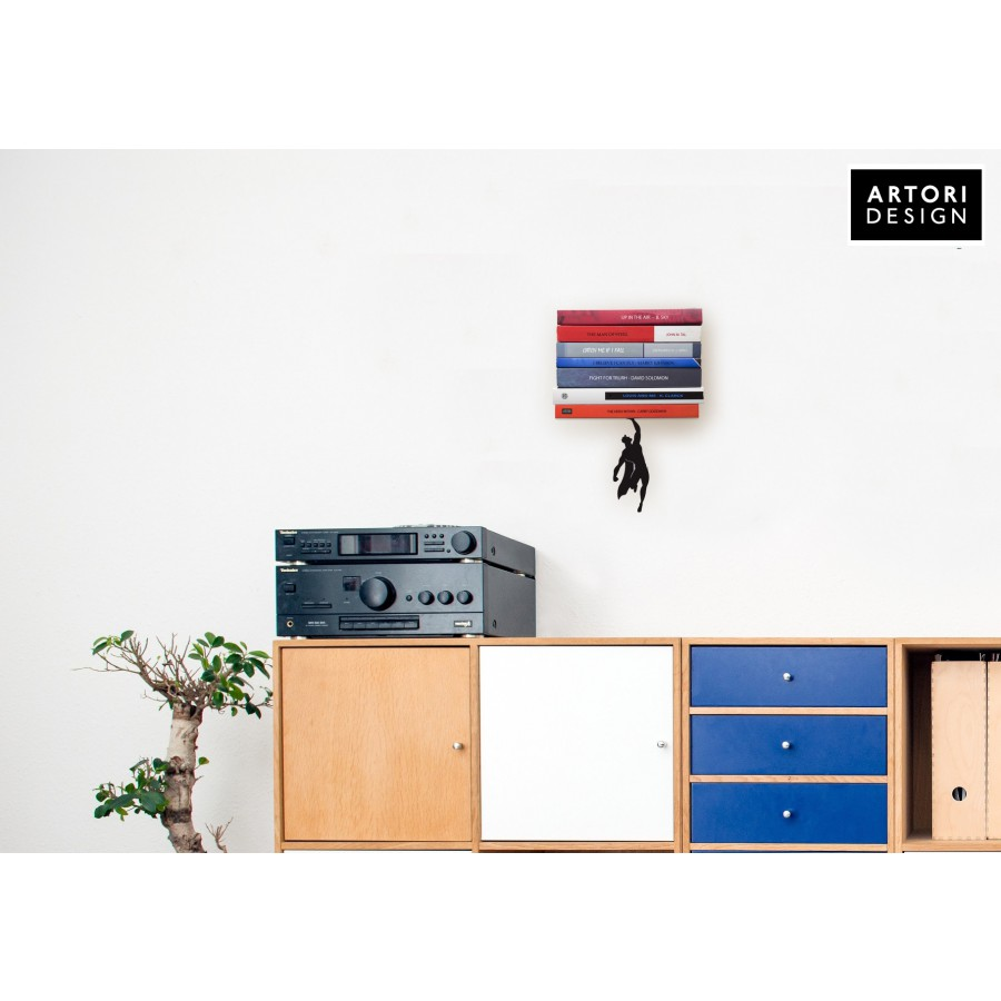 Supershelf - Floating Bookshelf by Artori Design - Cool Gifts