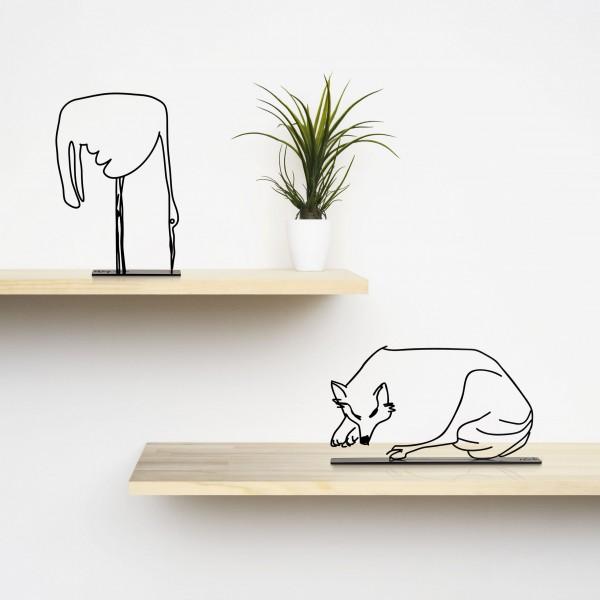 Wanetik Art - Fox Figurine