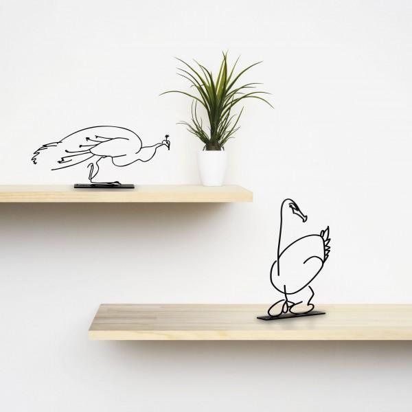 Wanetik Art - Duck Sculpture