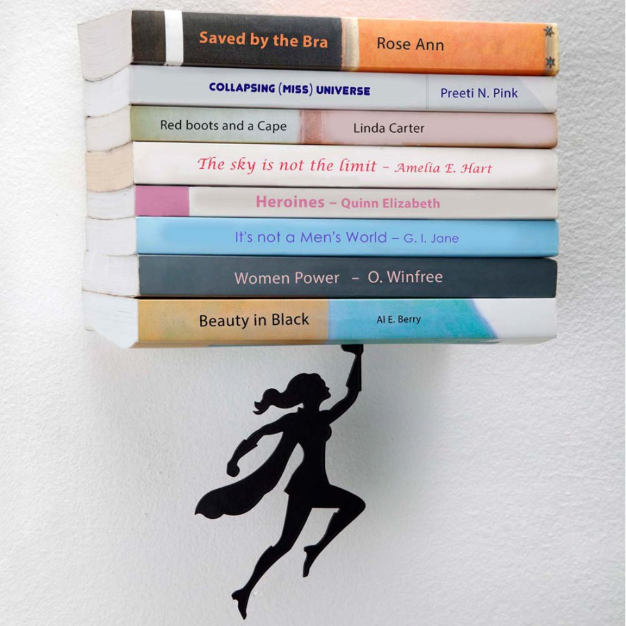 Wondershelf - floating bookshelf